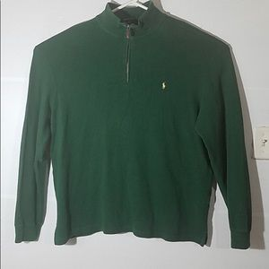 Polo By Ralph Lauren 1/4 zip sweater sweatshirt
